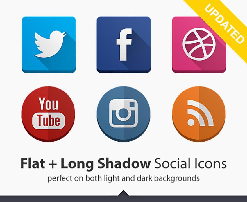 57 Best Social Media Icon Sets for Web, Apps, and More