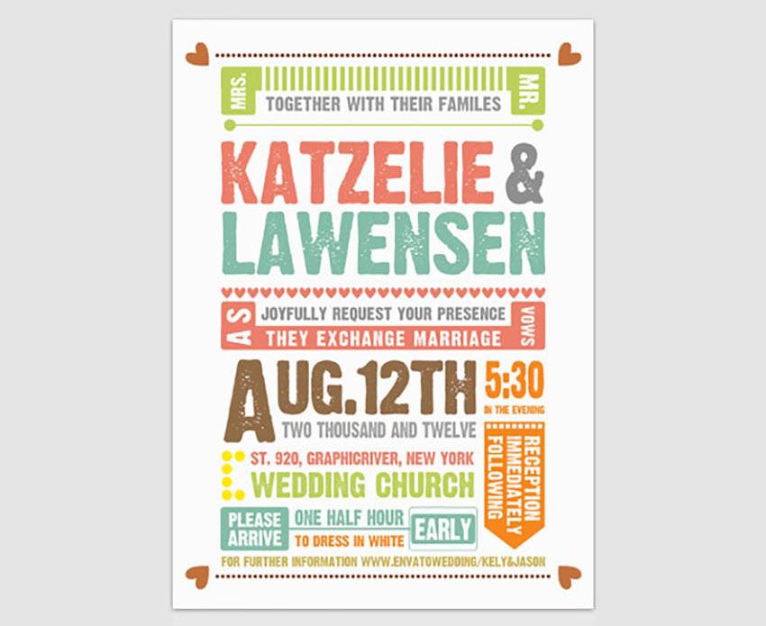 50 Stylish Wedding Invitation Templates