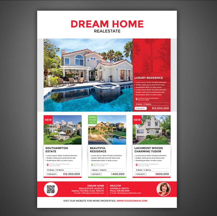 40 Professional Real Estate Flyer Templates - web flyer