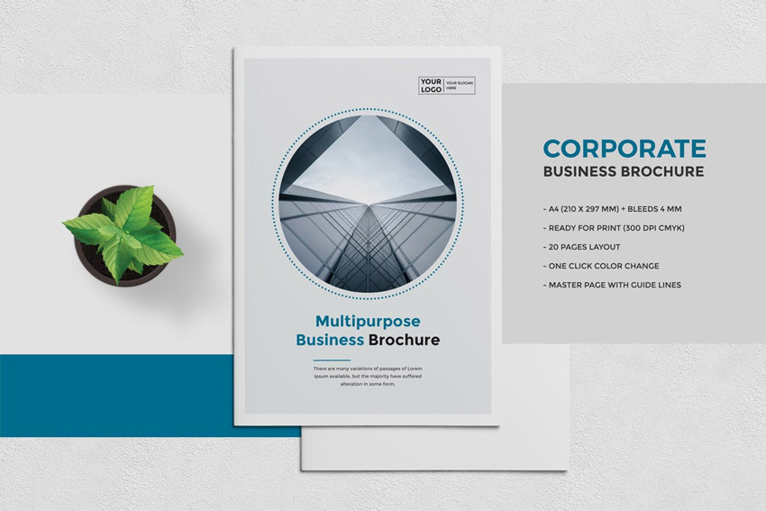 25 Best Professional Brochure Templates - Product Brochure Template