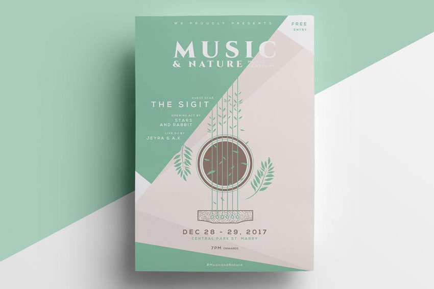 18 Best New Event Flyers for 2018 - design a flyer free