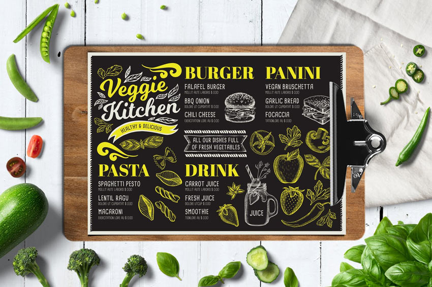 28 New Tasty Restaurant  Cafe Menu Templates for 2019