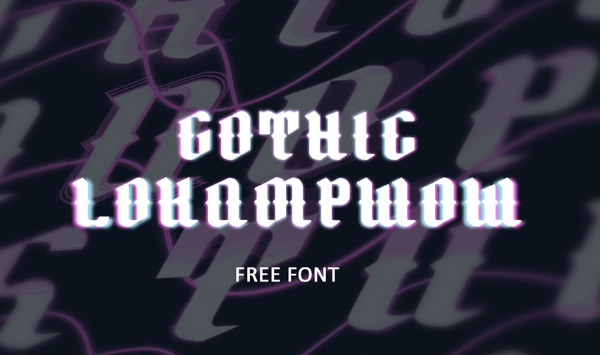 25+ Best Free Gothic Fonts for Fantasy Lettering Art Designs