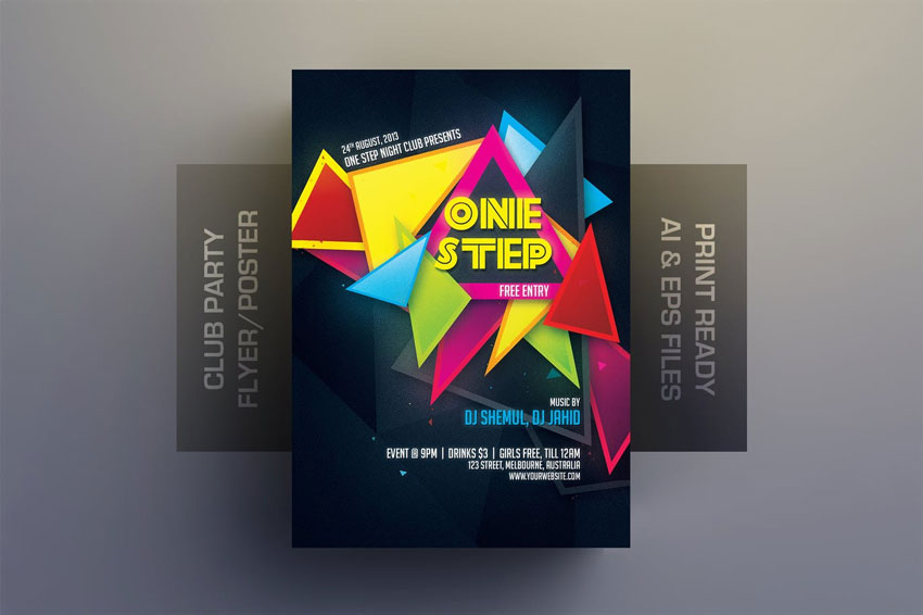 23 Cool New Party Flyer Templates for Photoshop  InDesign for 2019