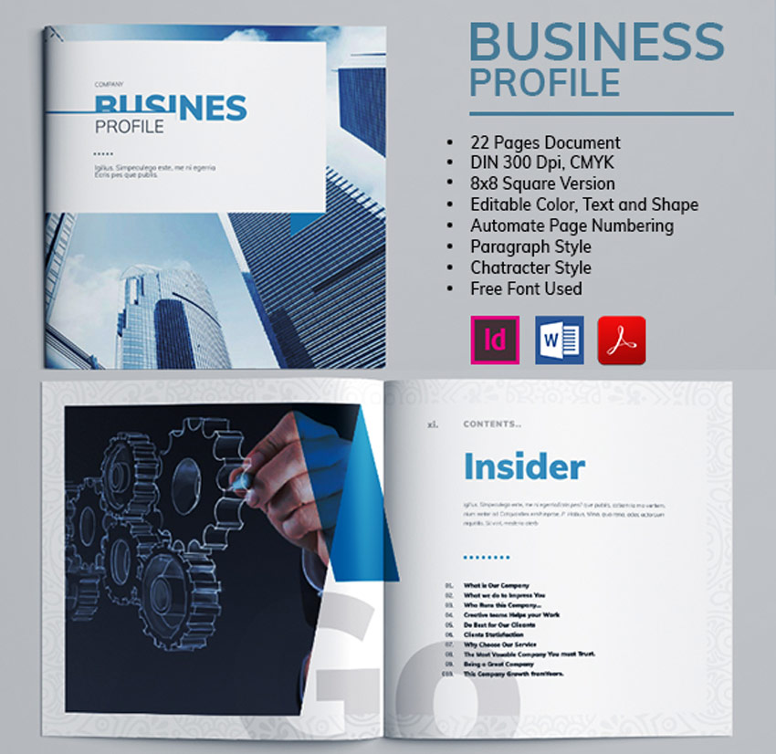 21 Creative Microsoft Word Brochure Templates (Best for 2019!)