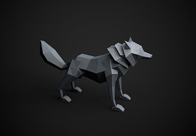 Android 3d Live Wallpaper Tutorial How To Model A Low Poly Wolf In Cinema 4d Part 1