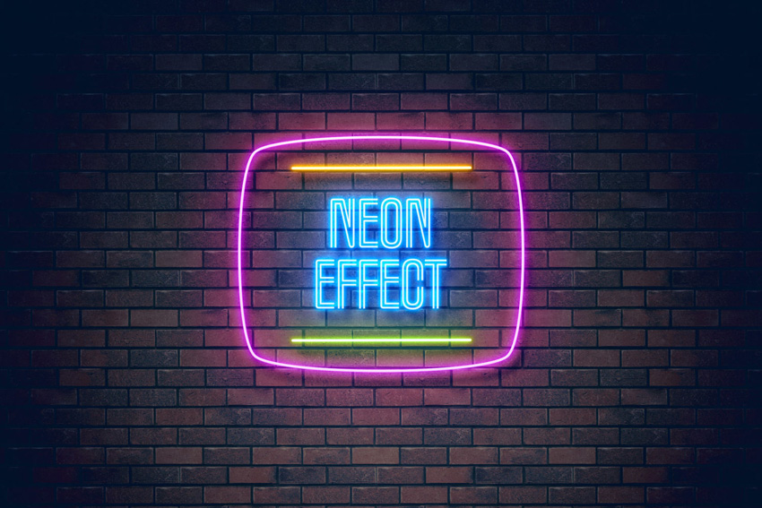 I Letter 3d Wallpapers How To Create A Realistic Neon Light Text Effect In Adobe