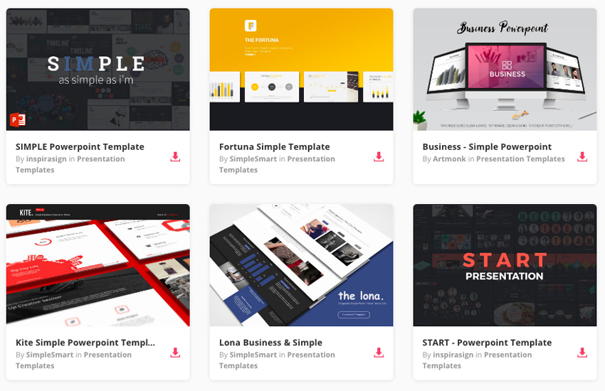 20 PPT Templates For Simple, Modern PowerPoint Presentations - Presentations Template