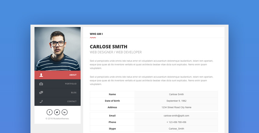 20+ Best WordPress Resume Themes For Your Personal Website