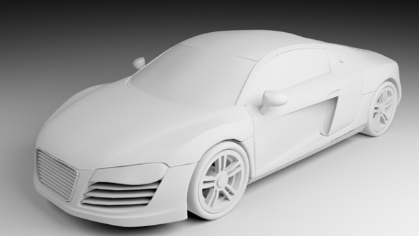 Modelling the Audi R8 in 3Ds Max, Day 1 - best of blueprint drawings of audi r8