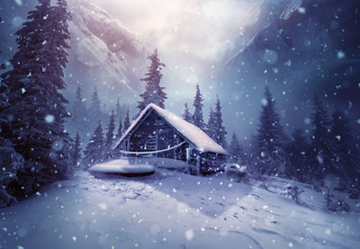 Android 3d Live Wallpaper Tutorial How To Create A Winter Landscape Photo Manipulation With