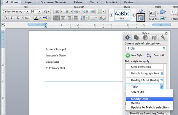 mla outline template google docs - Mla Format For Word