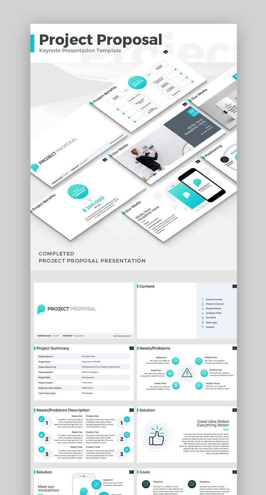 infographic proposal template