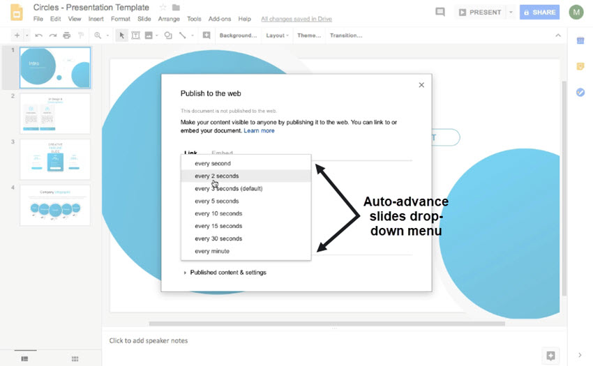 How to Time Your Slides on Google Slides in 60 Seconds