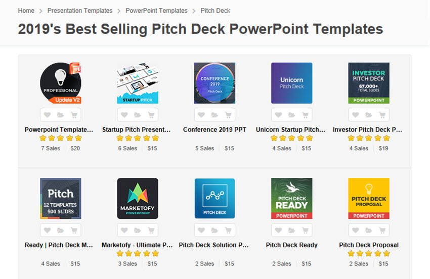 25 Best Pitch Deck Templates For Business Plan PowerPoint Presentations