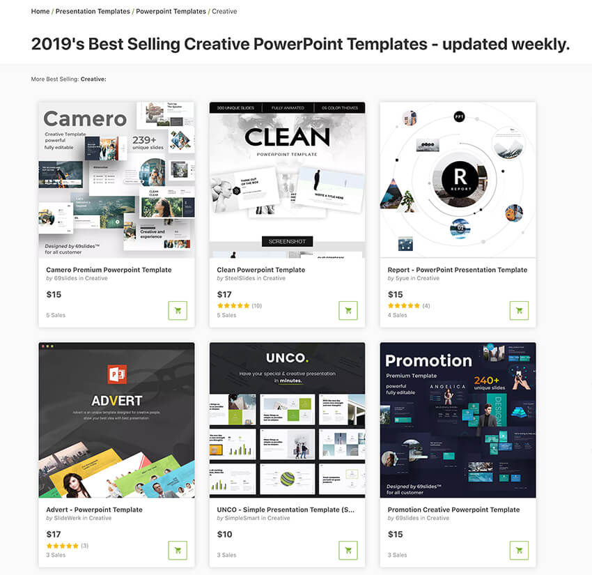 20+ Creative PowerPoint Templates - For Presenting Your Innovative Ideas