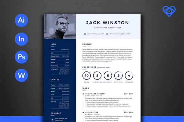 11 Creative Resume Design/CV Tips (With Template Examples for 2019)