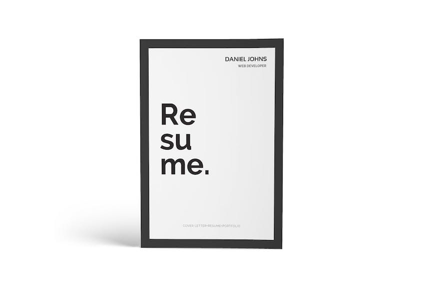 20 Best Job Resume Templates With Simple Designs (2019)