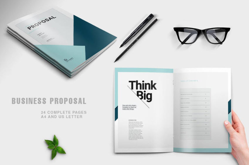 25 Best (Free) Business Proposal Templates (Download Word  InDesign
