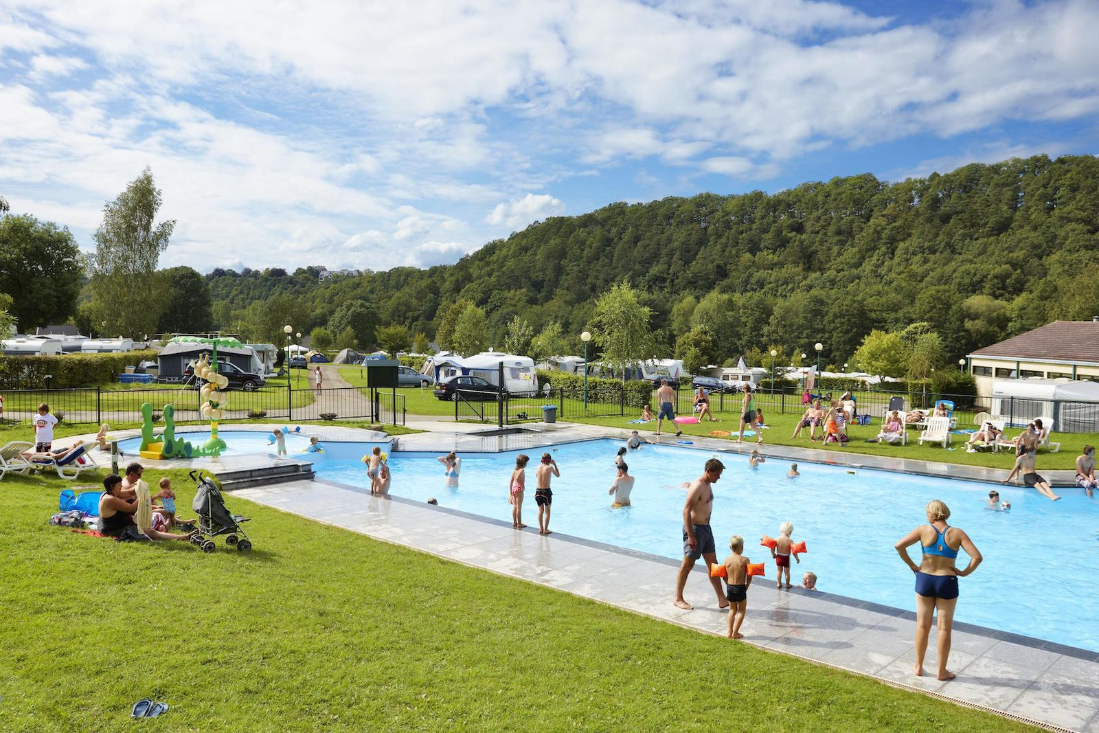 Camping Ardennen Luxemburg Met Zwembad Camping Ardennen Met Zwembad Camping Spa D 39or