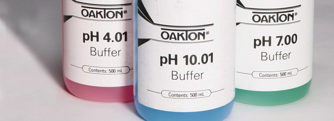 Oakton pH Buffer Solutions from Cole-Parmer