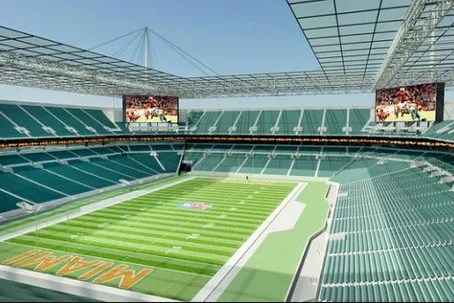 The Dolphins Stadium Upgrade Will Give Shade To 92 Percent of The