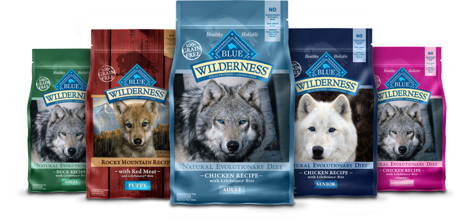 Blue Buffalo Wilderness Rocky Mountain Recipe with Red Meat Large