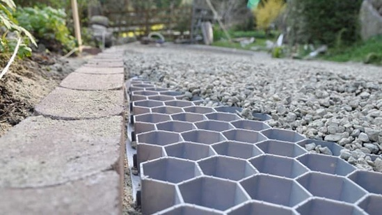 Temporary Patio Coredrive™ Gravel Stabiliser | Core Landscape Products