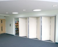 Acoustic multifold sliding folding partitions | Beehive ...