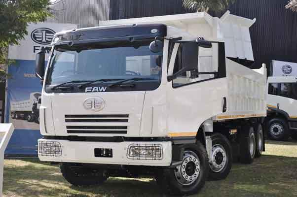 Faw Vehicle Manufacturers South Africa Faw Makes History In South Africa George Herald