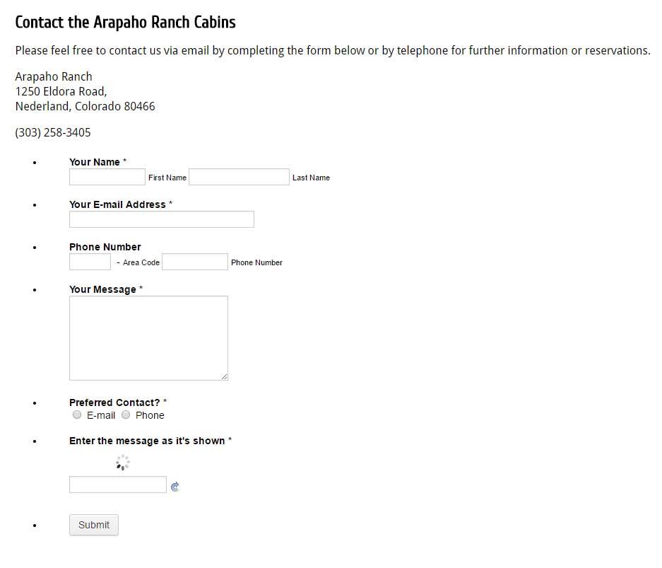 Contact Form Captcha is not working JotForm