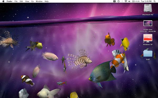 Desktop Aquarium 3d Live Wallpaper Desktop Aquarium 3d 1 8 Un Acquario Virtuale Sul Vostro