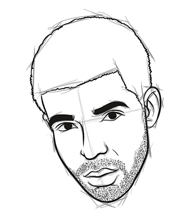 Graphic Content How to Draw Drake in 8 Easy Steps Myspace