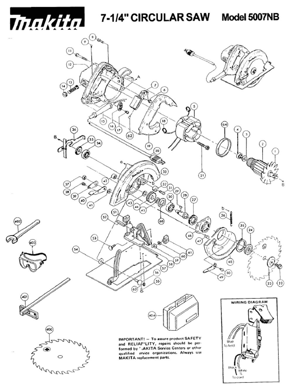 makita 9227c wiring diagram