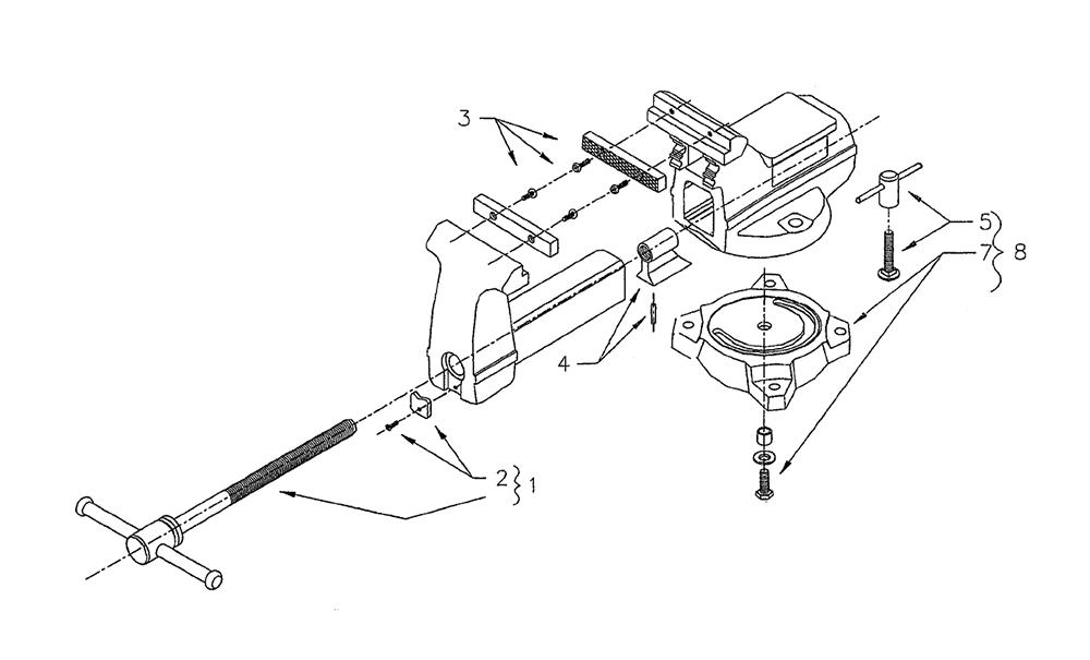 wilton 645 parts list and diagram 111218