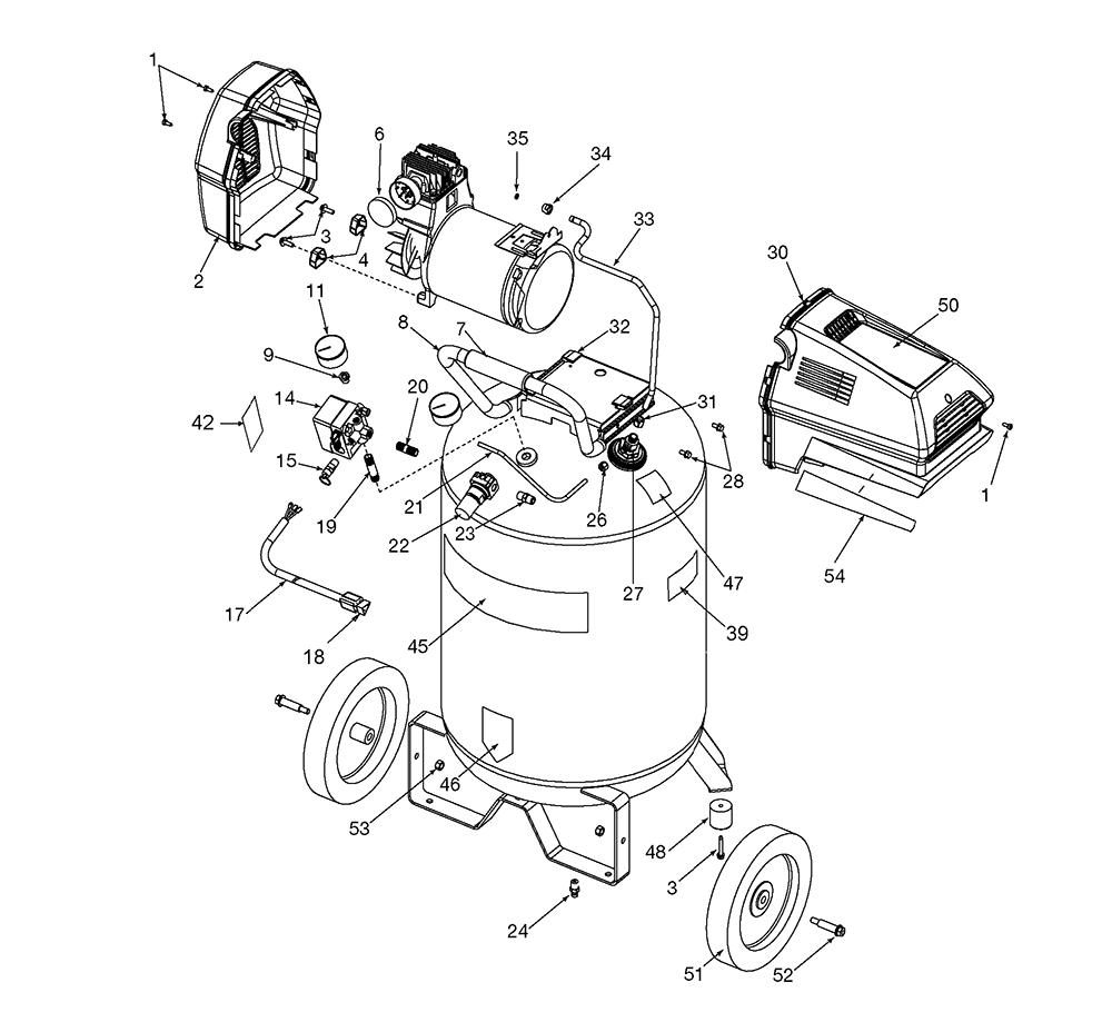 air inflator motor wiring diagram