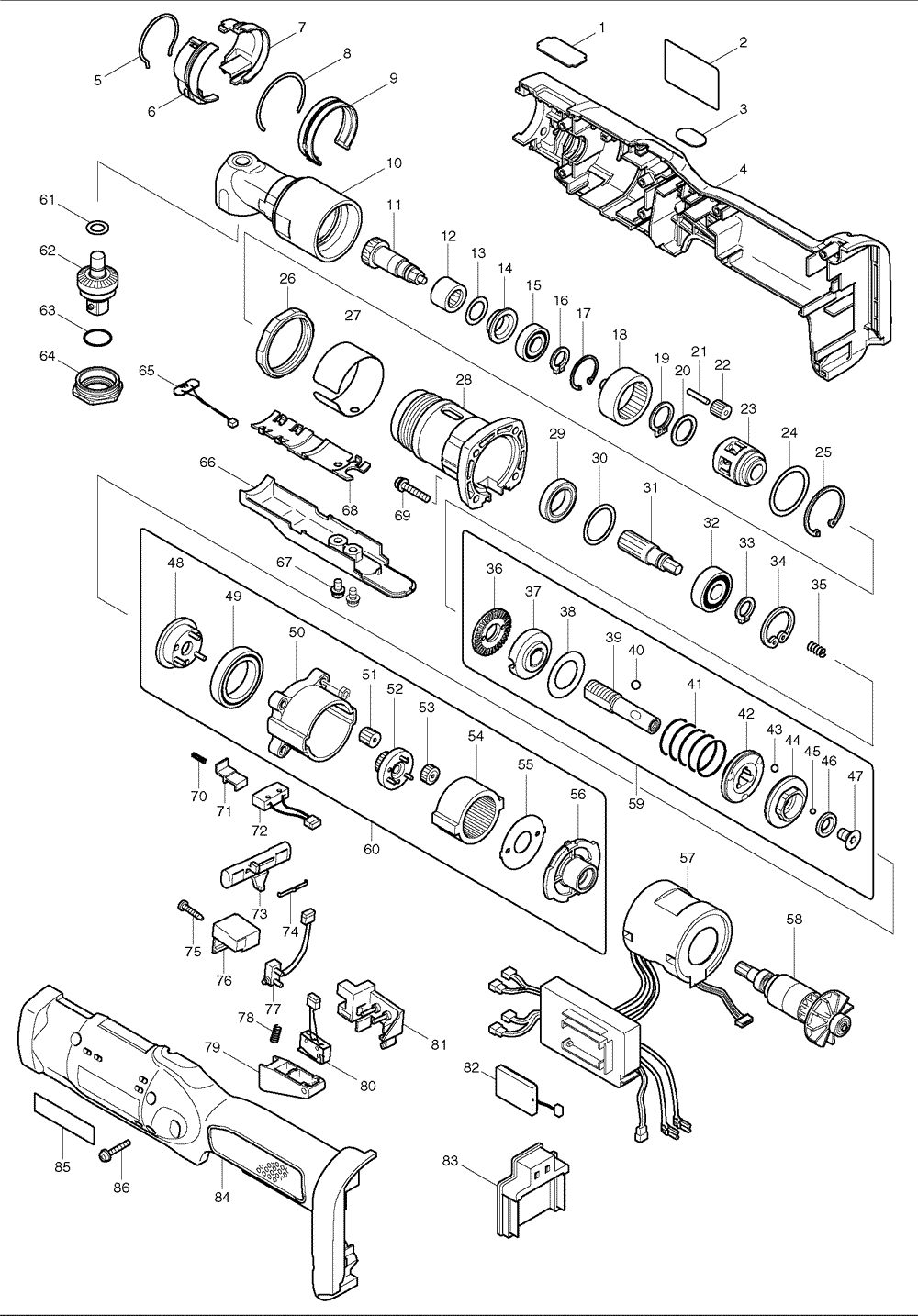 torque screwdriver diagram