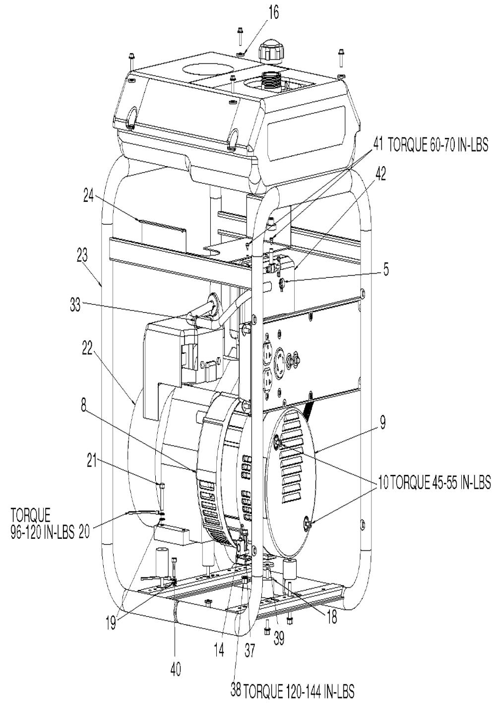 generator fuel filter replacement