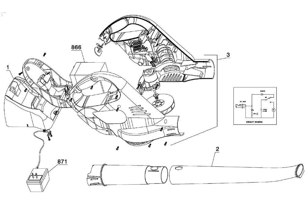 t 100 vacuum diagram