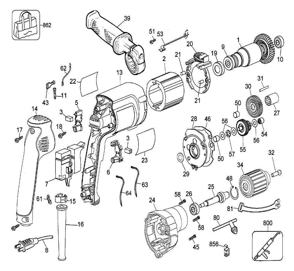 dewalt dw235g wiring diagram