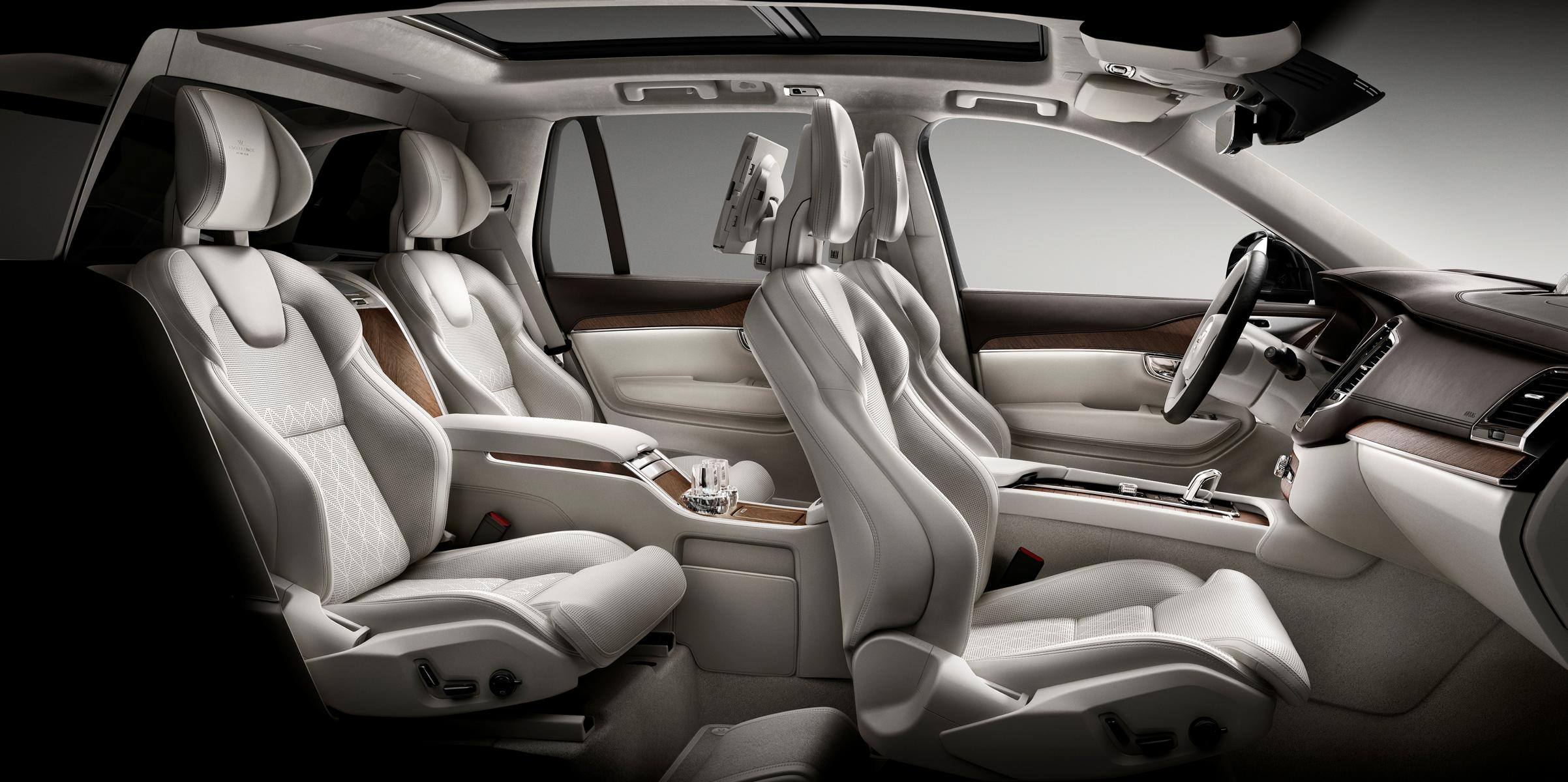 Volvo Interieur Unterwegs In Der First Class Volvo Xc90 Excellence Bietet