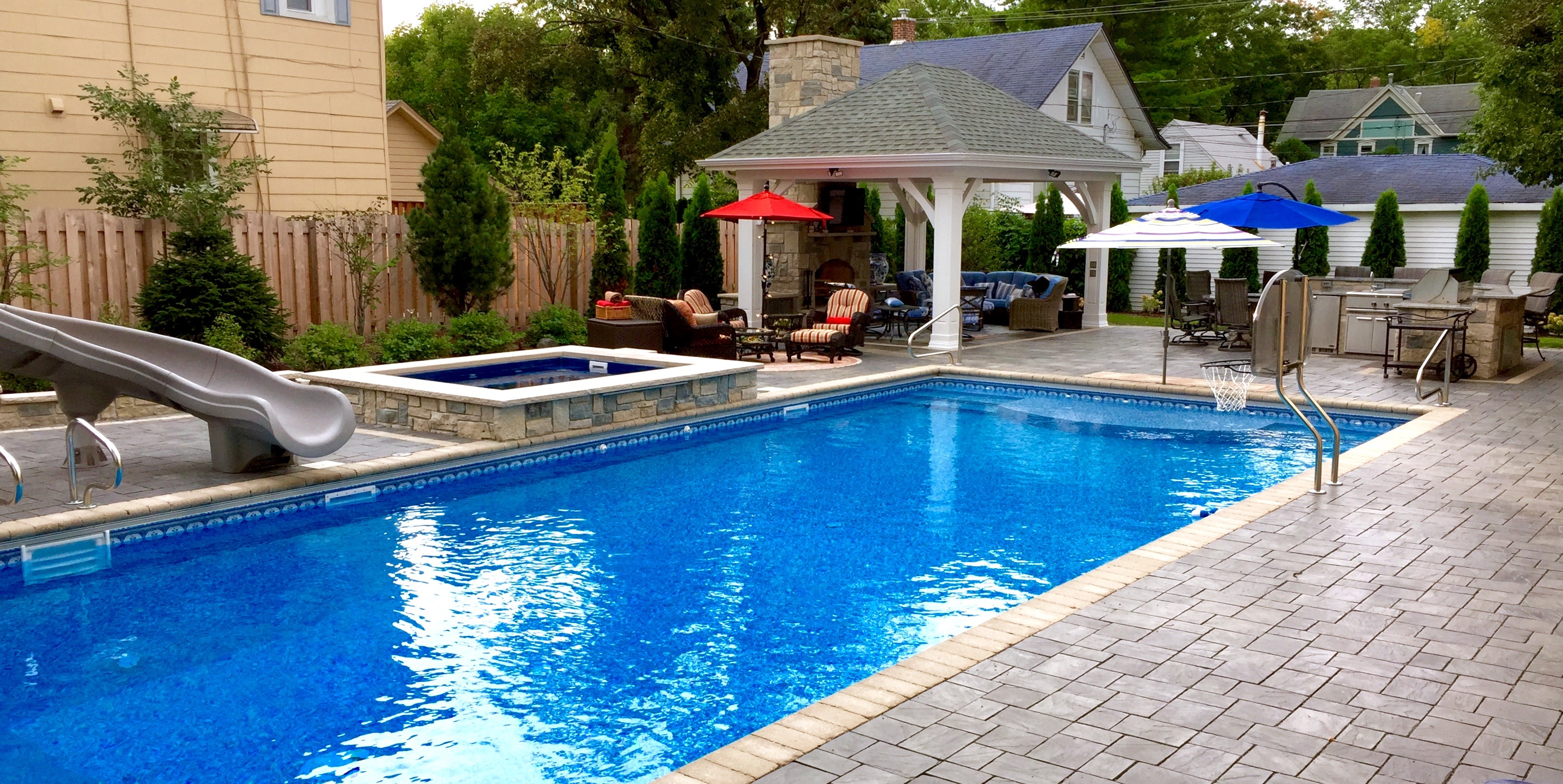 Jacuzzi Pool Hot Tub Pools And Spa Hot Tubs Cms Landscapes