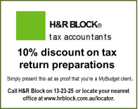 MyBudget - Blog - 10% discount on tax services + answers ...