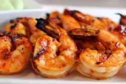 Lovable Oven Bay Garlic Grilled Shrimp Bryan D Baker Copy Me That How Long To Grill Shrimp Packets How Long To Grill Shrimp