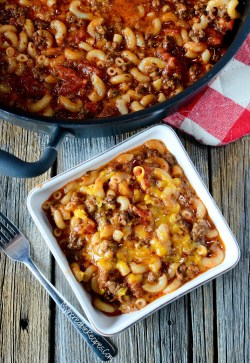 Small Of Old Fashioned Goulash
