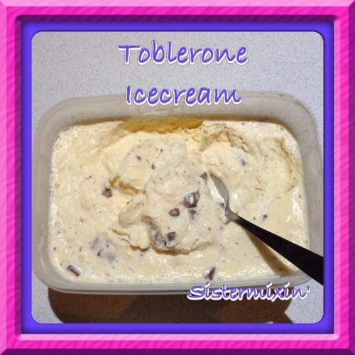 Medium Crop Of Toblerone Ice Cream