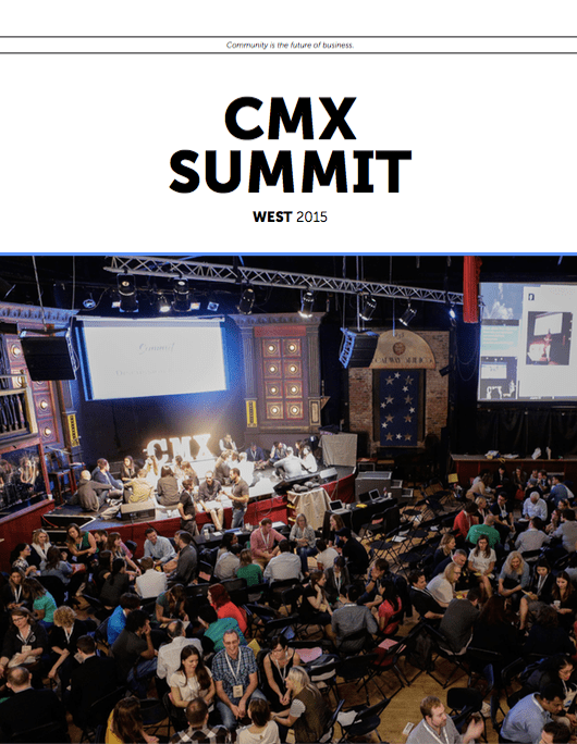 CMX Summit West 2015 Recap Magazine