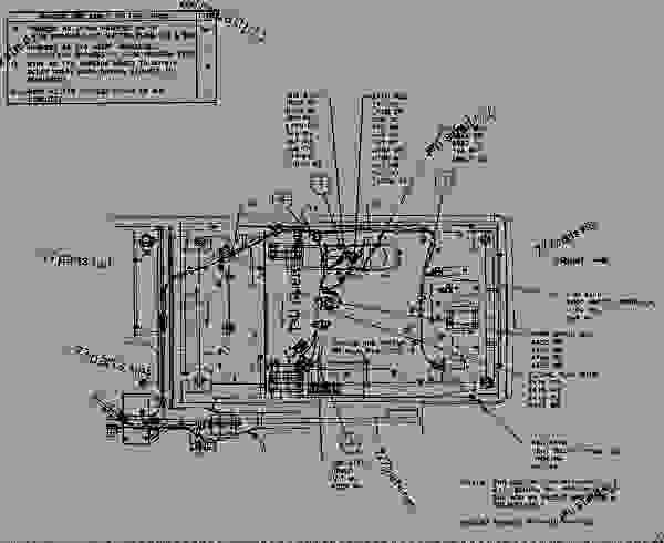 1534132 Wiring Group Auxiliary Control 挖掘机caterpillar 330b Ln