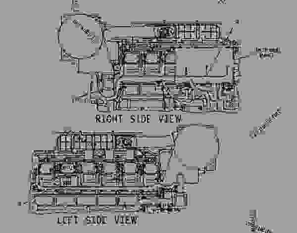 cat 3512b engine wiring diagram