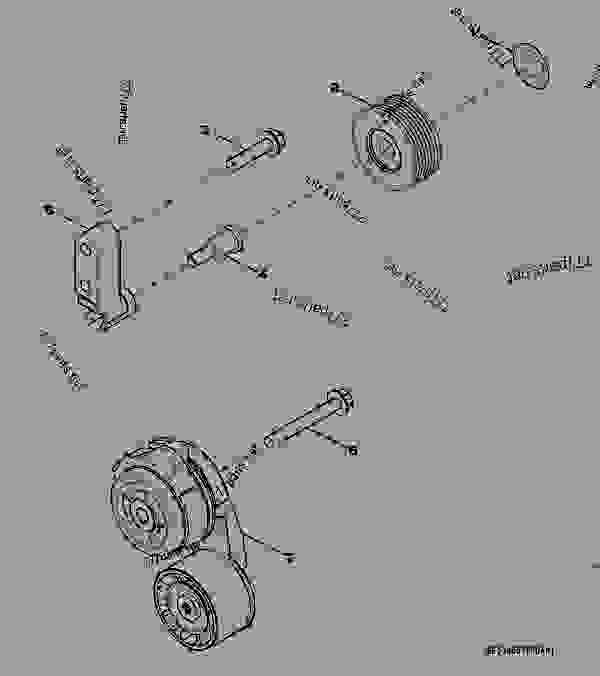 maxxforce 13 engine belt diagram